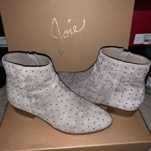 Joie Lacole Studded Suede Bootie